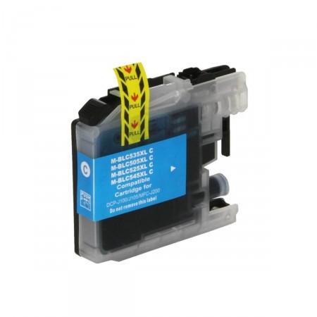 Cartucho de Tinta Compatível Premium Brother LC-505C Ciano