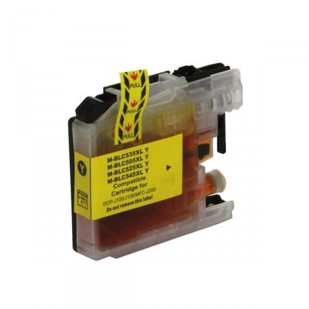 Cartucho de Tinta Compatível Premium Brother LC-505Y Amarelo