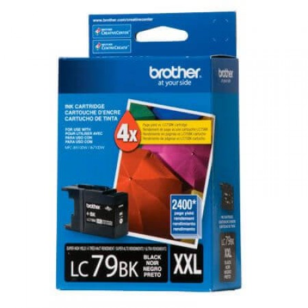 Cartucho Tinta Brother LC-79BK Preto Alto Rendimento