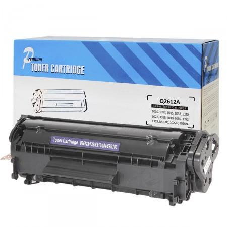 Toner Compatível Premium Quality Q2612A 12A p/ HP 1010 1020 1022 3015 2K