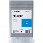 Cartucho de Tinta PFI 030 C Ciano para Canon IPF