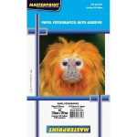 Papel Fotográfico Glossy Auto Adesivo A4 130G Master Print 50 Folhas Premium