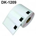 Etiqueta DK-1209 p/ impressoras de etiquetas Brother 62x29mm Pré-Cortado