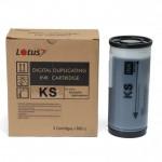 Tinta para Duplicadora Riso KS500 KS600 KS800 Preto 800ml c/ 2 Unidades