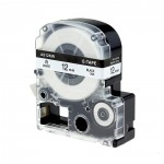 Fita LK-4WBN 12mm Preto/Branco p/ Rotulador Epson