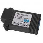 Cartucho de Tinta PFI 102 C Ciano para Canon IPF