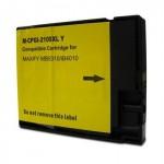 Cartucho de Tinta PG 2100XL Y Amarelo para Canon 5310 5110 4010